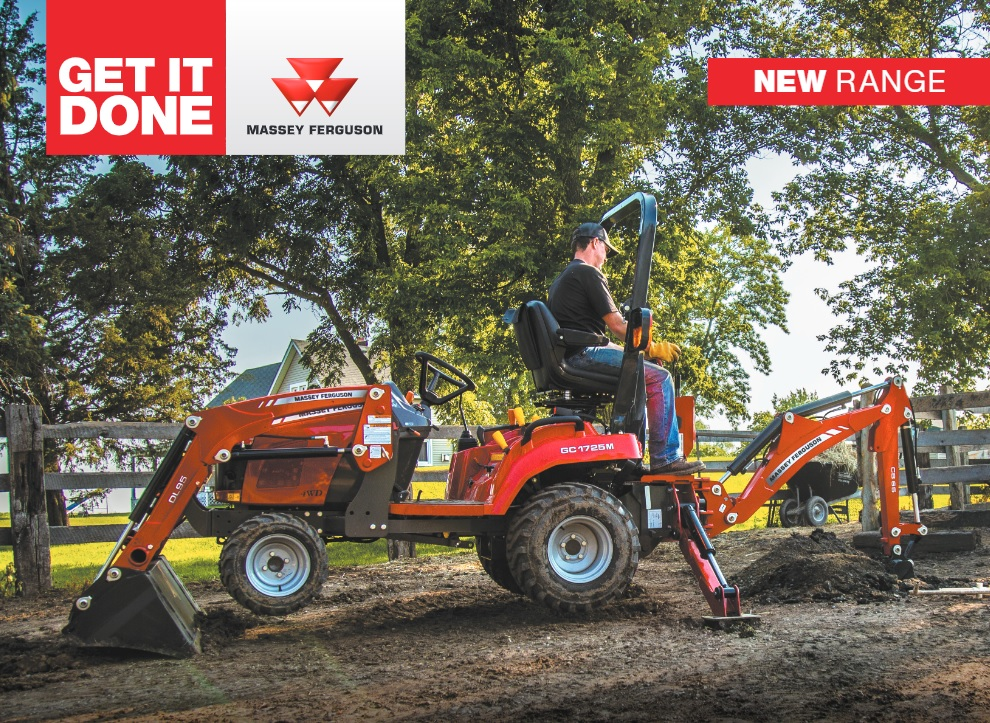 Compact Tractor, Big Performance – Newly Styled MF GC1700 Series