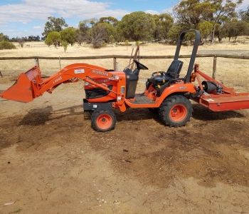 Kubota BX2360 & Attachments