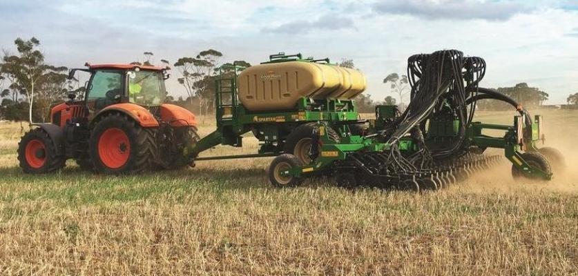 Great Plains now partnered with Kubota Australia