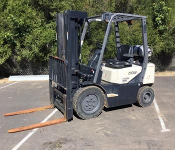 Crown 2.5T CG25E Forklift (BM)