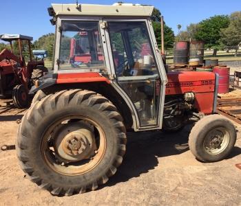 Massey Ferguson 355 CAB Tractor