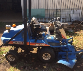 Iseki SF230 Out Front Mower