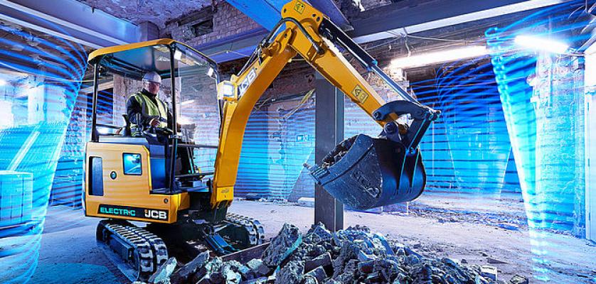 New JCB 19C-1E Electric Mini Excavator