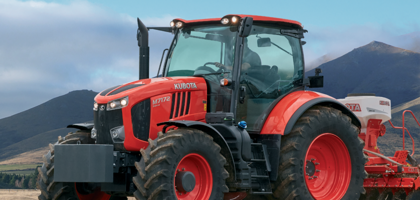 Kubota Ups the power with new M7-2 Line-up