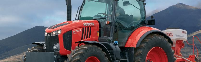 Kubota Ups the power with new M7-2 Line-up